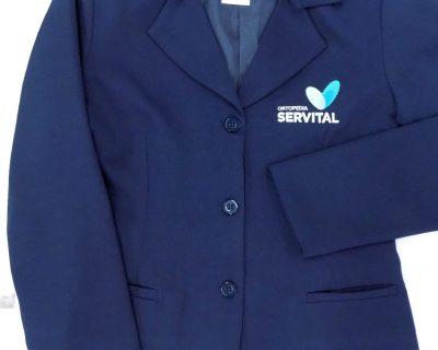 ortopedia servital - blazer feminino bordado
